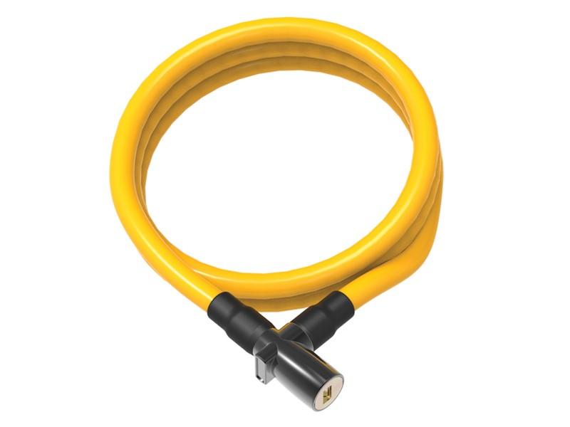 Zapięcie rowerowe ONGUARD 8192YL Linka - 8mm 150cm - 2 x Klucze żółte (NEW)