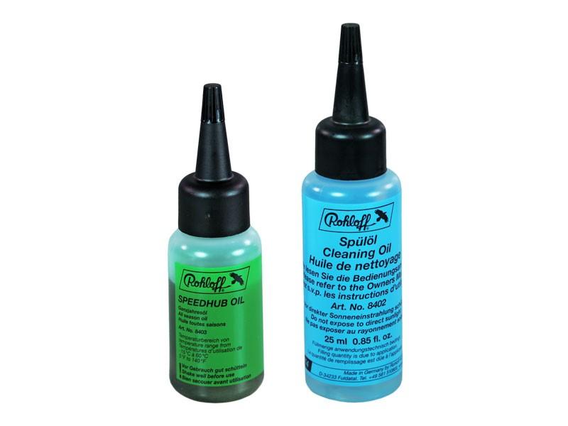 Zestaw do wymiany oleju w piaście ROHLOFF SPEEDHUB 500/14 (Olej całoroczny 25ml + Olej czyszczący 25ml)