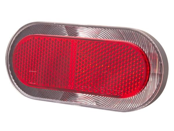 Lampka tylna na bagażnik SPANNINGA ELIPS XDS 80mm pod dynamo