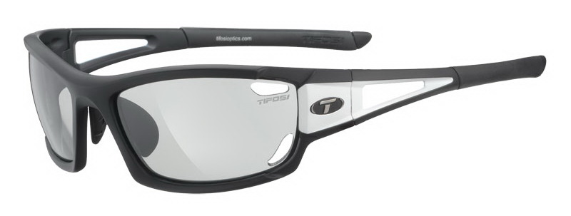 Okulary TIFOSI DOLOMITE 2.0 FOTOTEC black white (1szkło Light Night FOTOCHROM 75,9%-27,7% transmisja światła) (NEW)