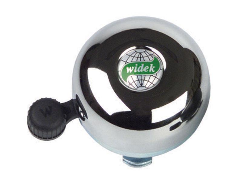 Dzwonek rowerowy WIDEK BRASS BELL chromowy pudełko 12szt. (DWZ)