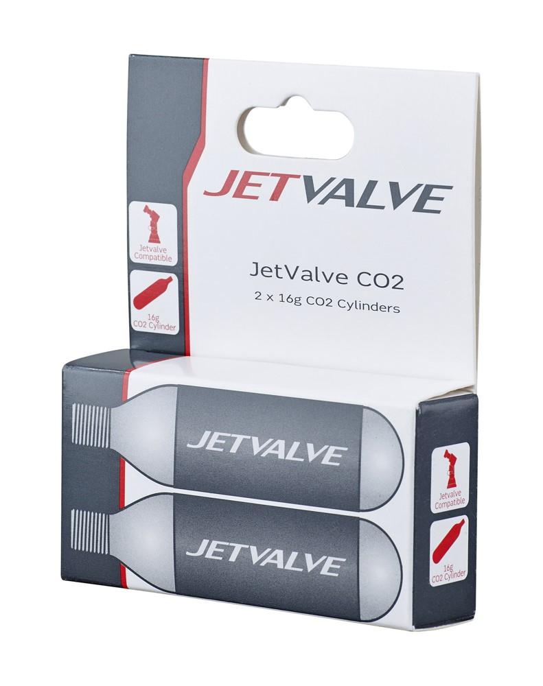 Nabój gazowy WELDTITE JETVALVE CO2 16g 2szt.