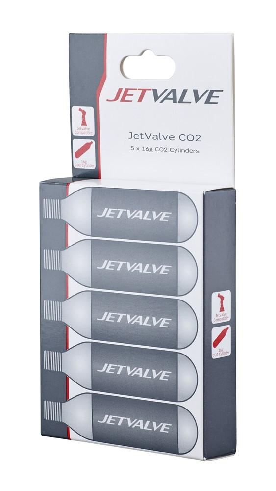 Nabój gazowy WELDTITE JETVALVE CO2 16g 5szt.