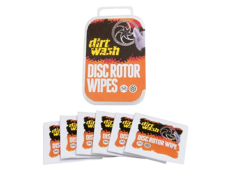 Chusteczka do czyszczenia tarczy WELDTITE DIRTWASH DISC ROTOR WIPES 6szt.