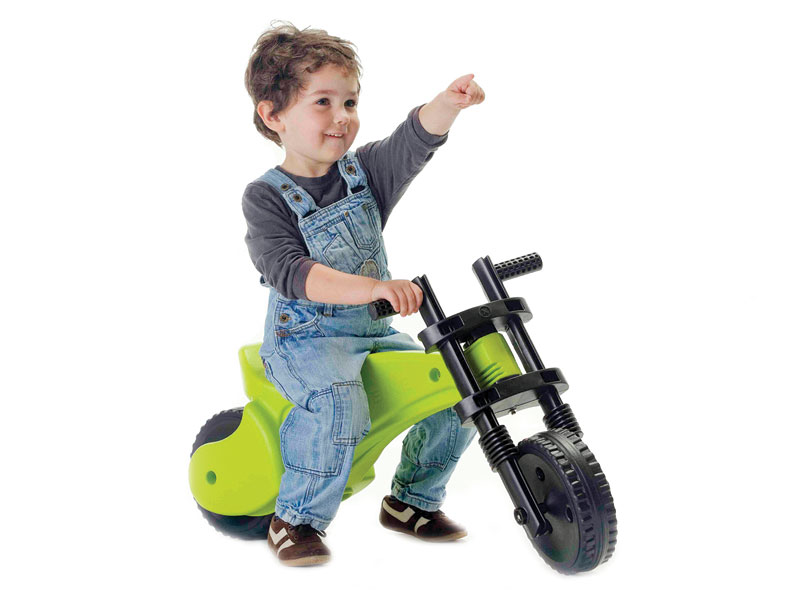 Rowerek biegowy Y BIKE ORYGINAL zielony