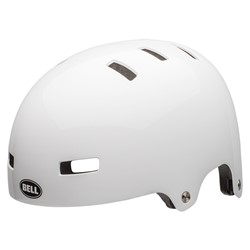 Kask bmx BELL LOCAL gloss white roz. M (55–59 cm) (NEW)