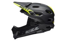 Kask full face BELL SUPER DH MIPS SPHERICAL matte gloss black roz. S (52–56 cm) (NEW)