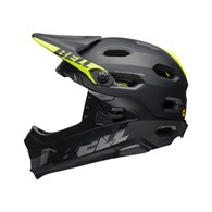 Kask full face BELL SUPER DH MIPS SPHERICAL matte gloss black roz. M (55–59 cm) (NEW)
