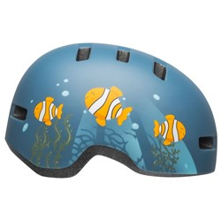 Kask dziecięcy BELL LIL RIPPER clown fish matte gray blue roz. S (48–55 cm) (NEW)