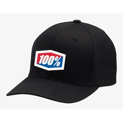 Czapka z daszkiem 100% OFFICIAL X-Fit flexfit hat black roz. S/M